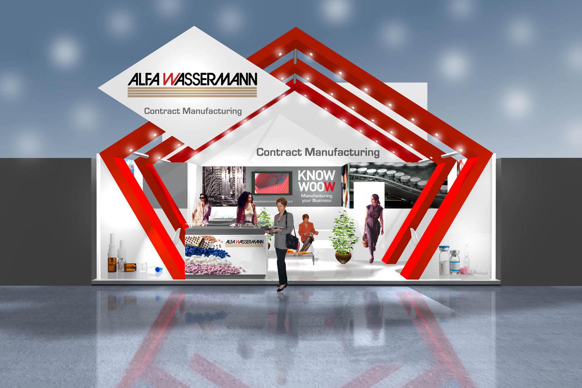 Alfa Wassermann, Stand