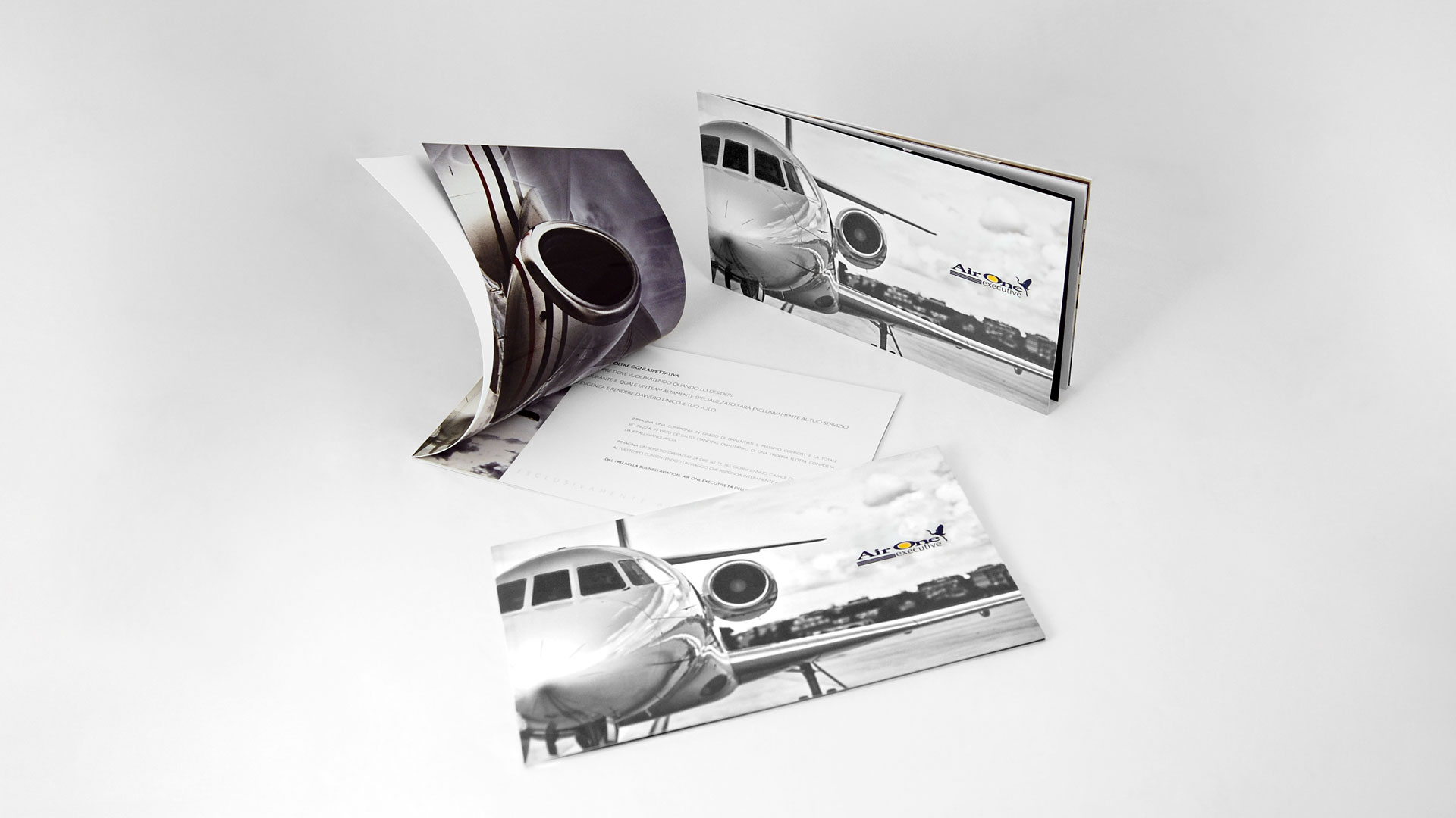 Airone Executive, Brochure