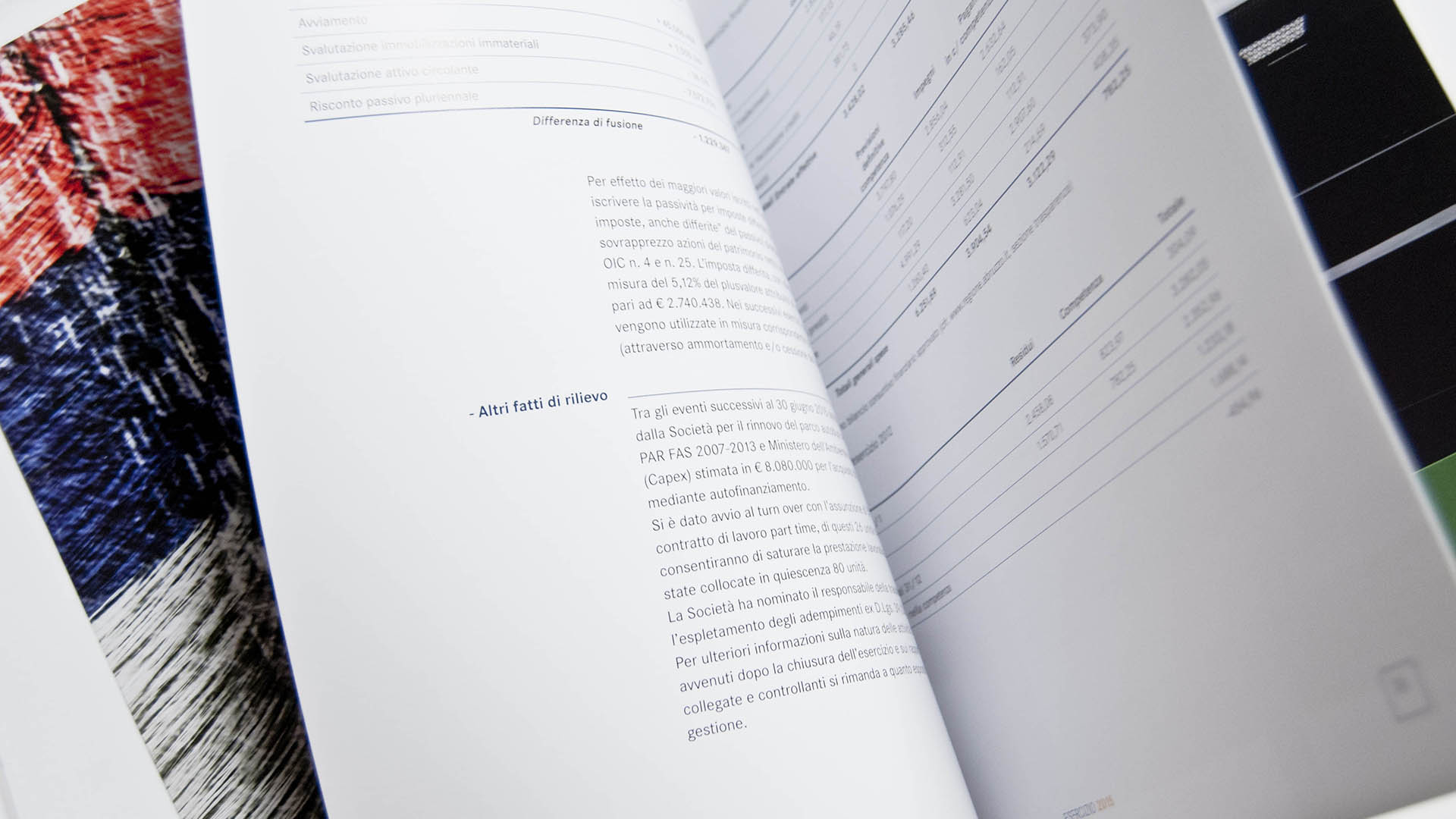 TUA, Annual report 2015 – 2016