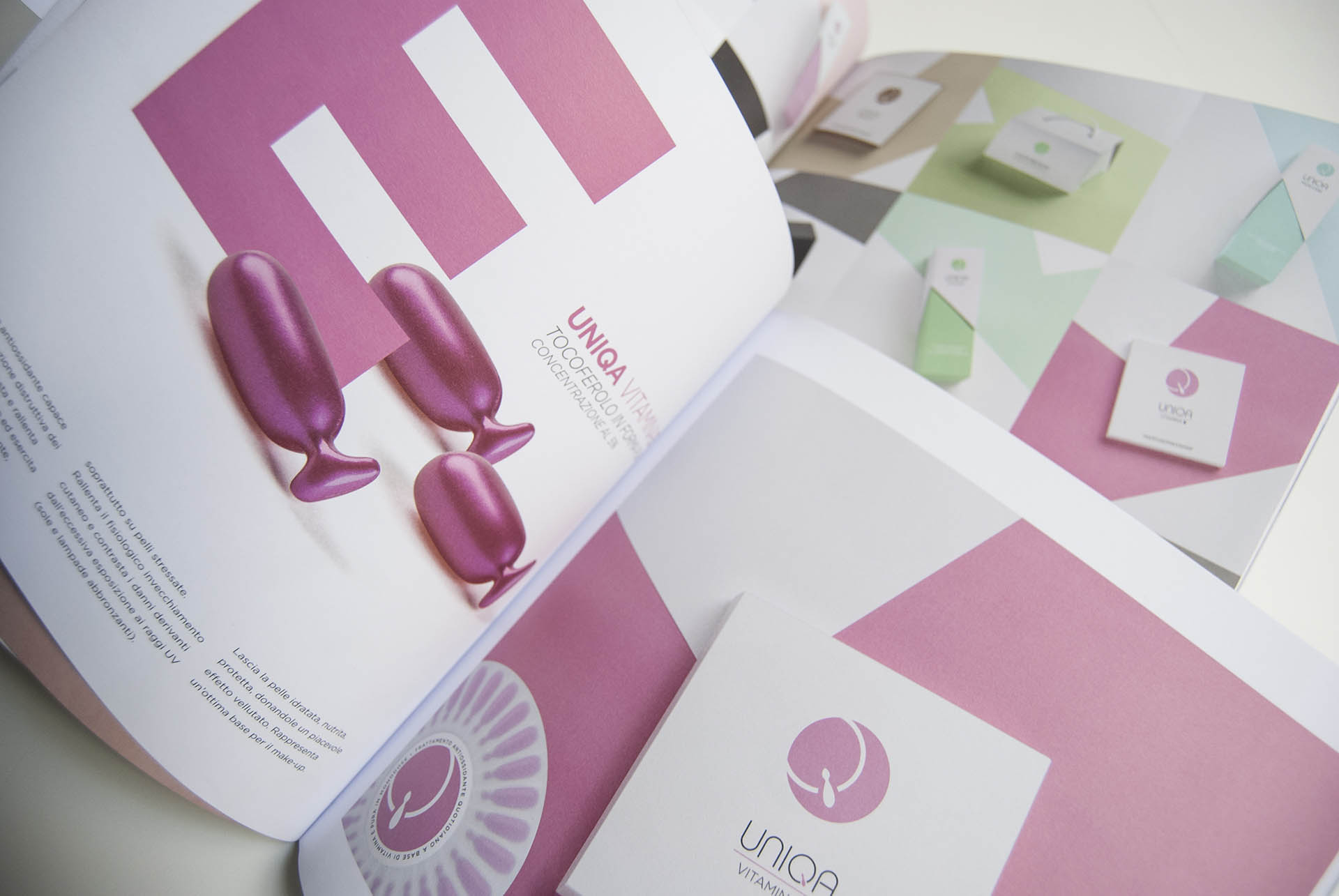 PEA Cosmetics, Brochure