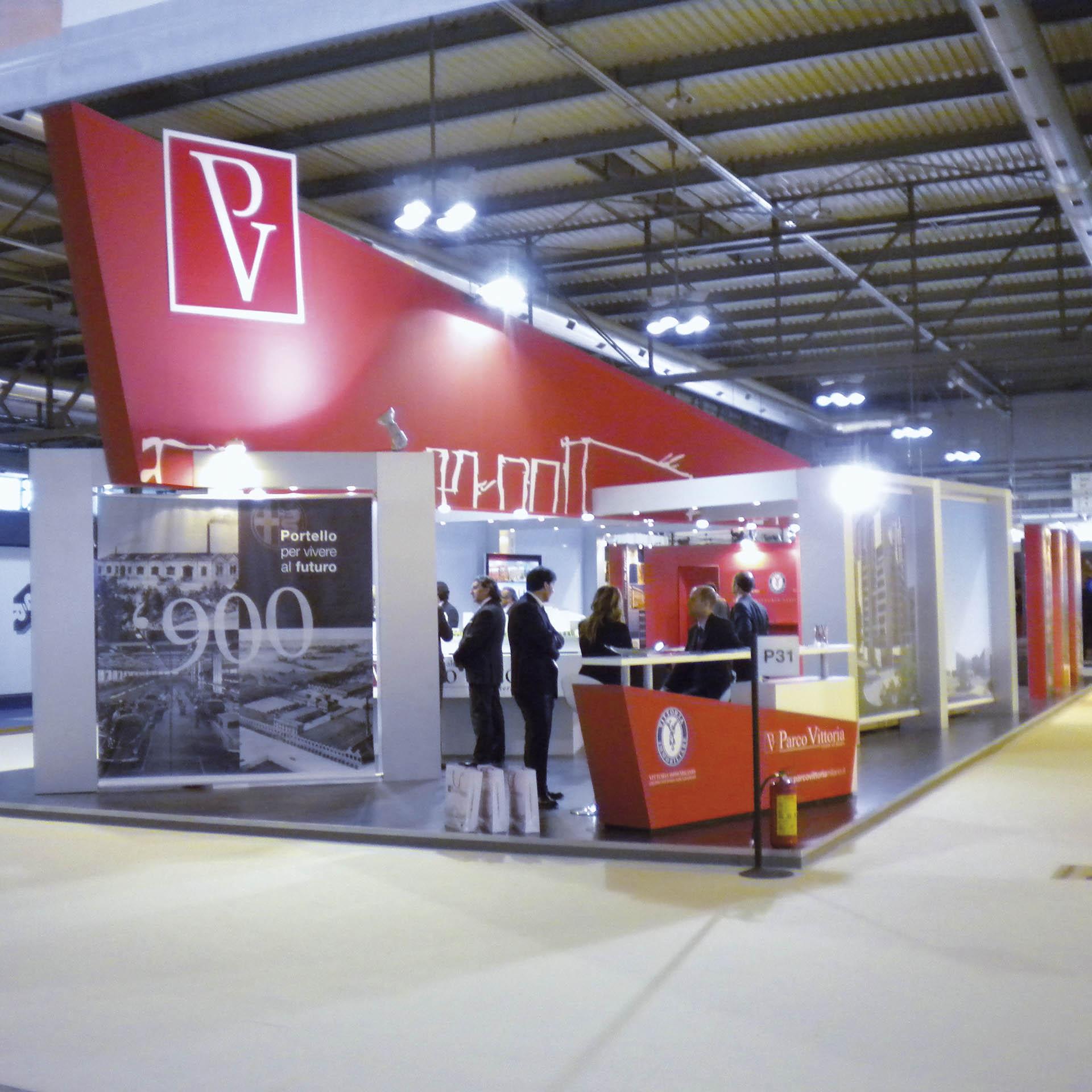 Parco Vittoria, Stand