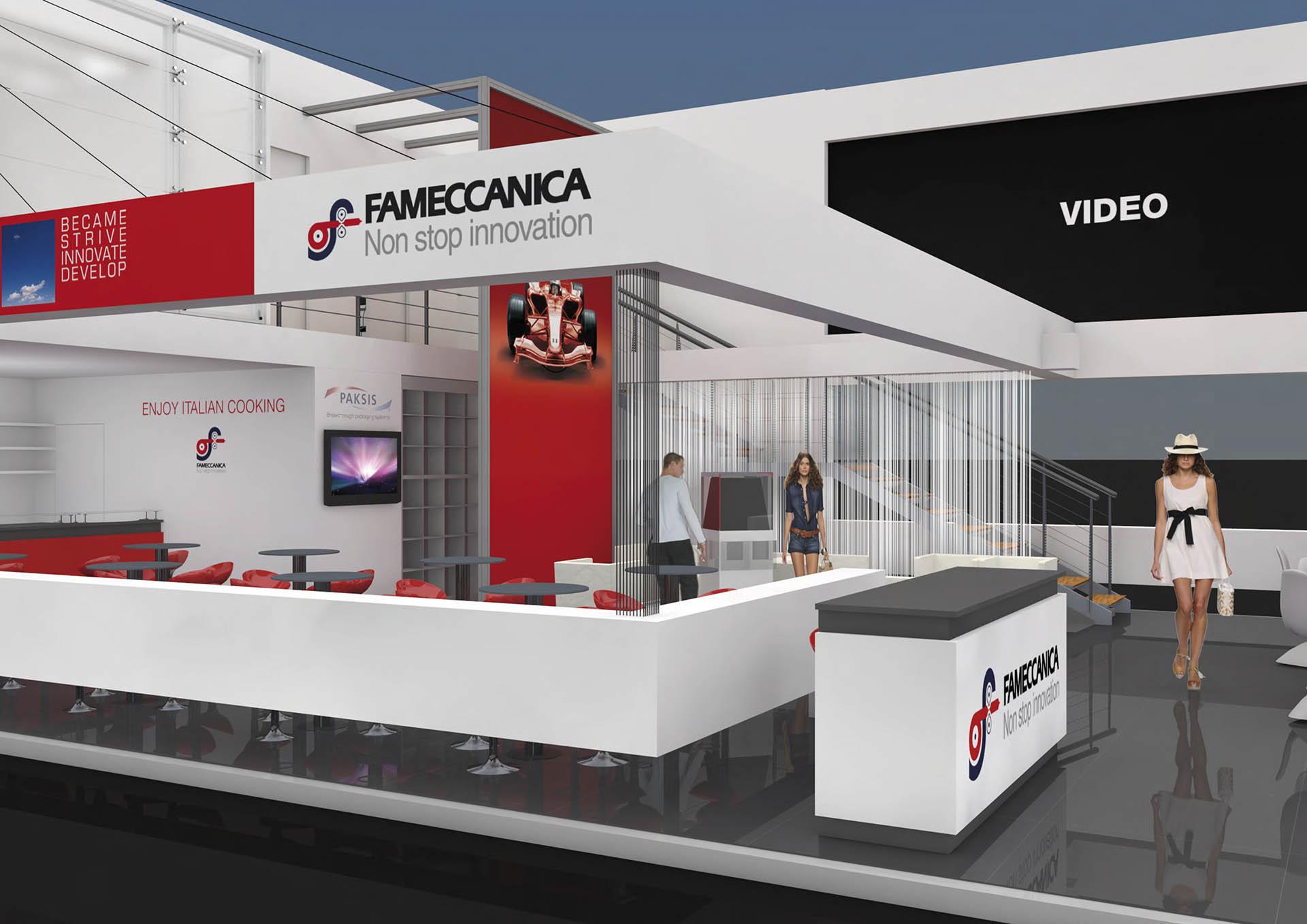 Fameccanica, Stand