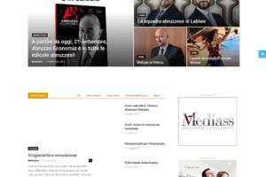 Abruzzo Economia, Web site