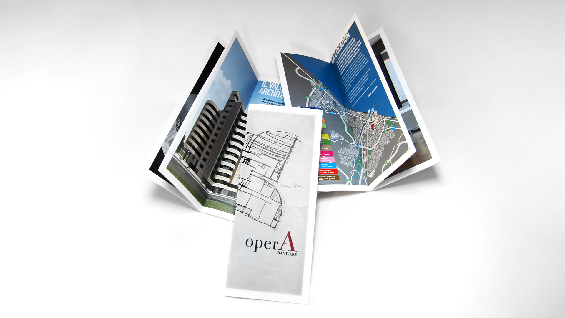 Opera Caldora, Brochure