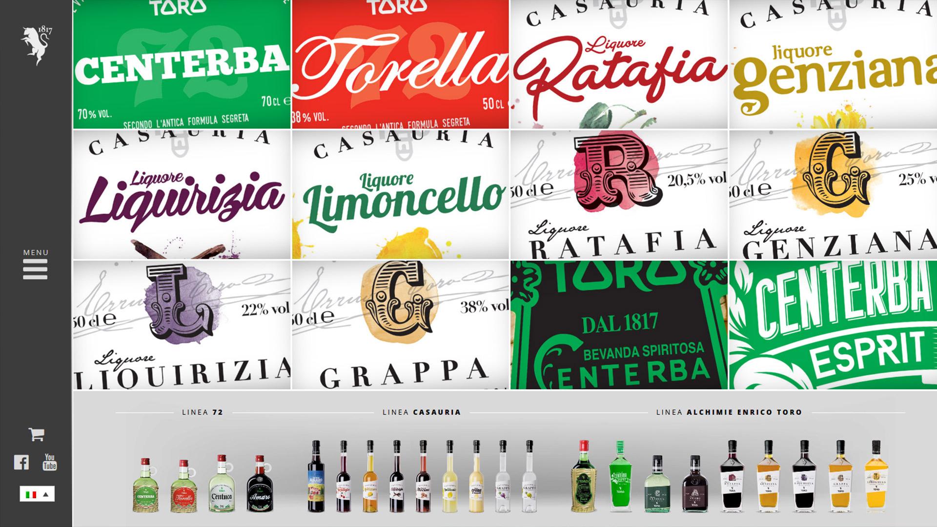 Liquori Toro, Web site