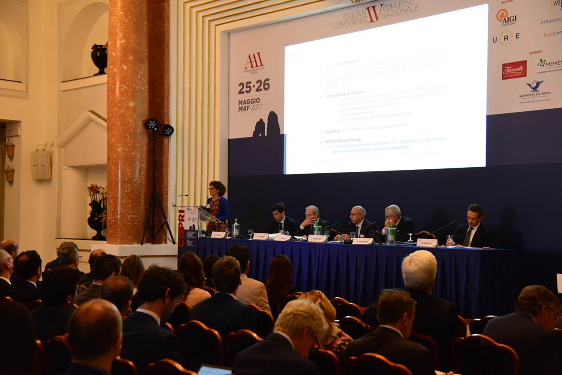 "AAI (Associazione Antitrust Italiana), Evento ""Capri 2017"""