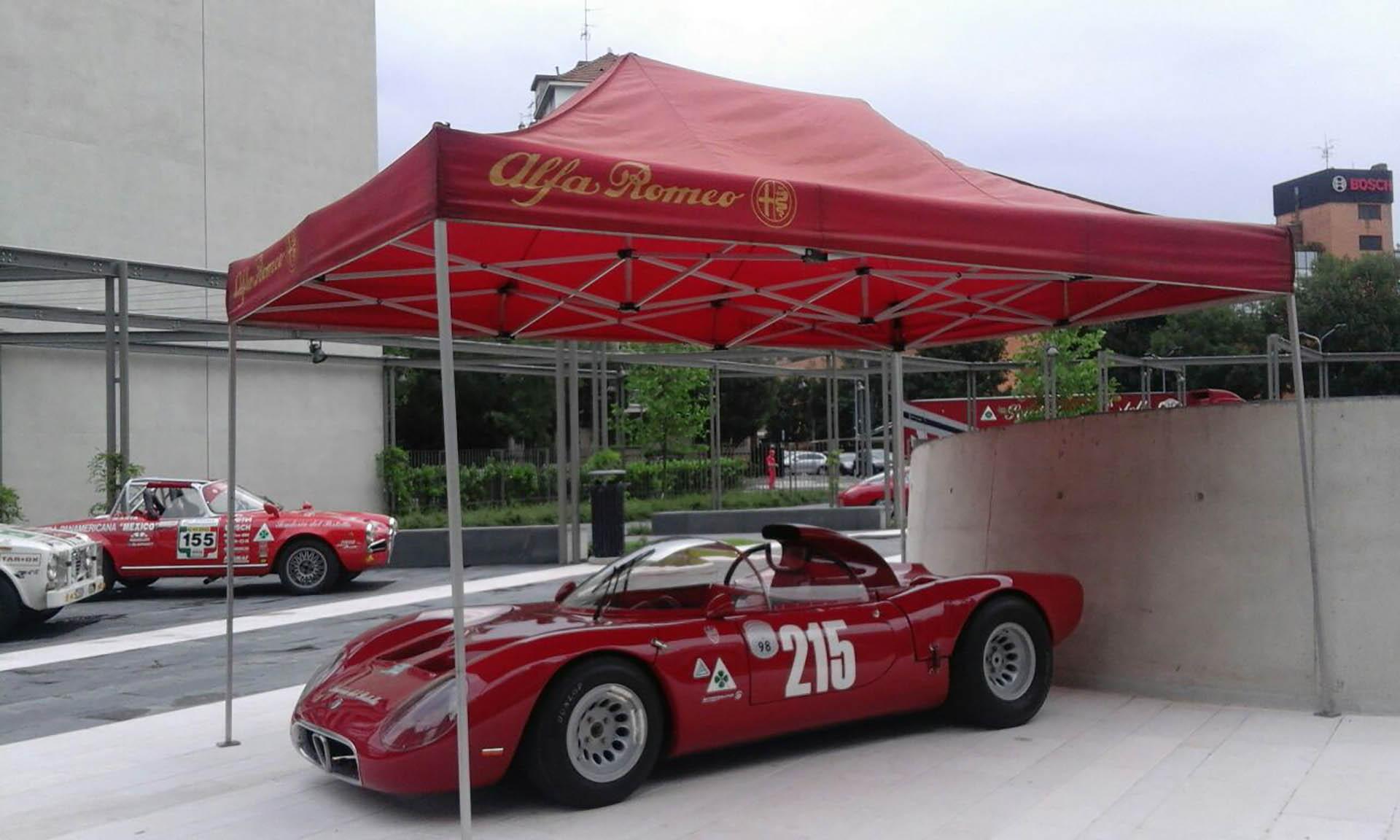 "Parco Vittoria, Evento ""Alfa Romeo"""