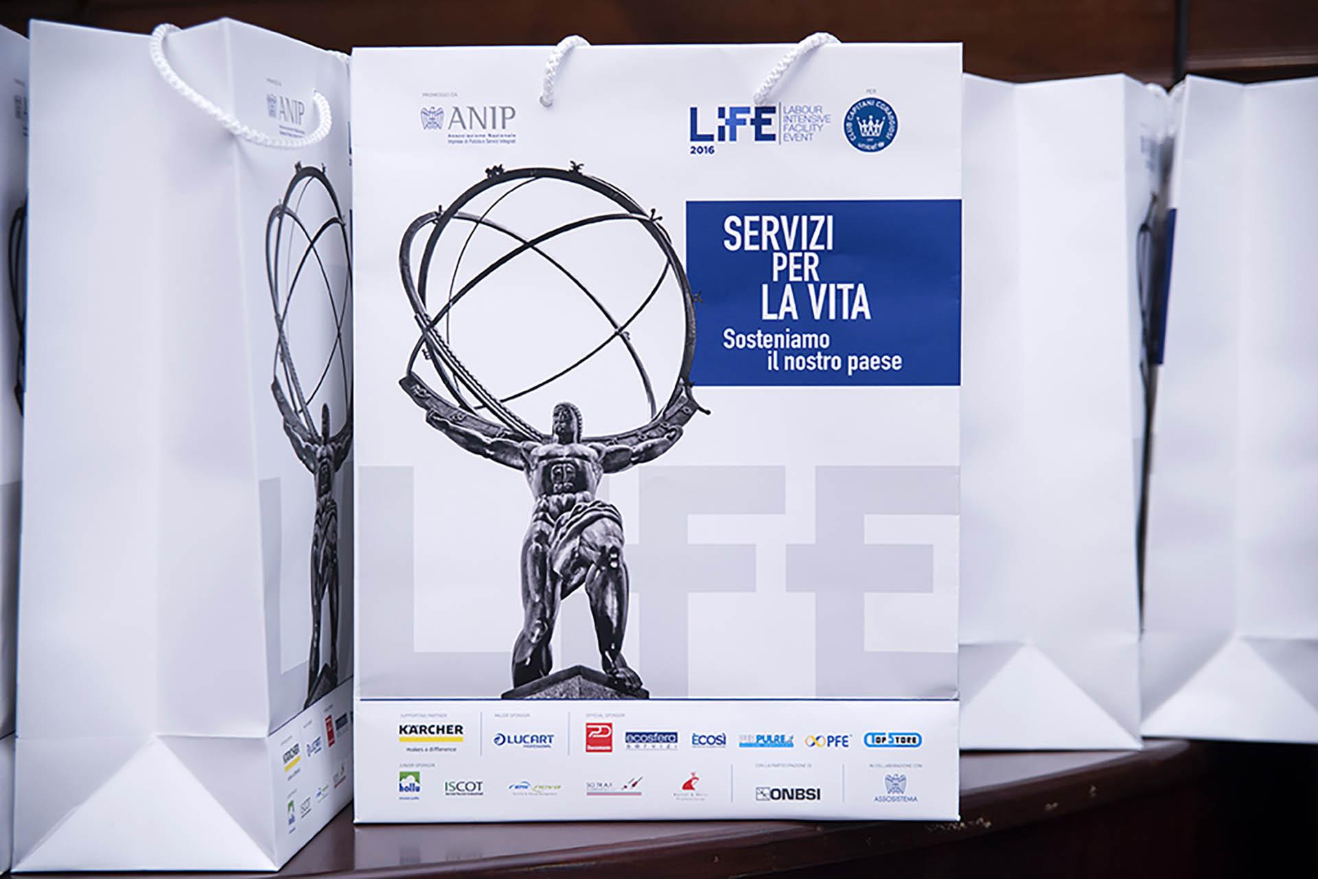 """ANIP (Associazione Nazionale Imprese di Pulizia), Evento """"LIFE 2016"""""""