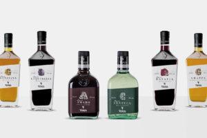 """Liquori Toro, Etichette """"Linea Alchimie"""""""