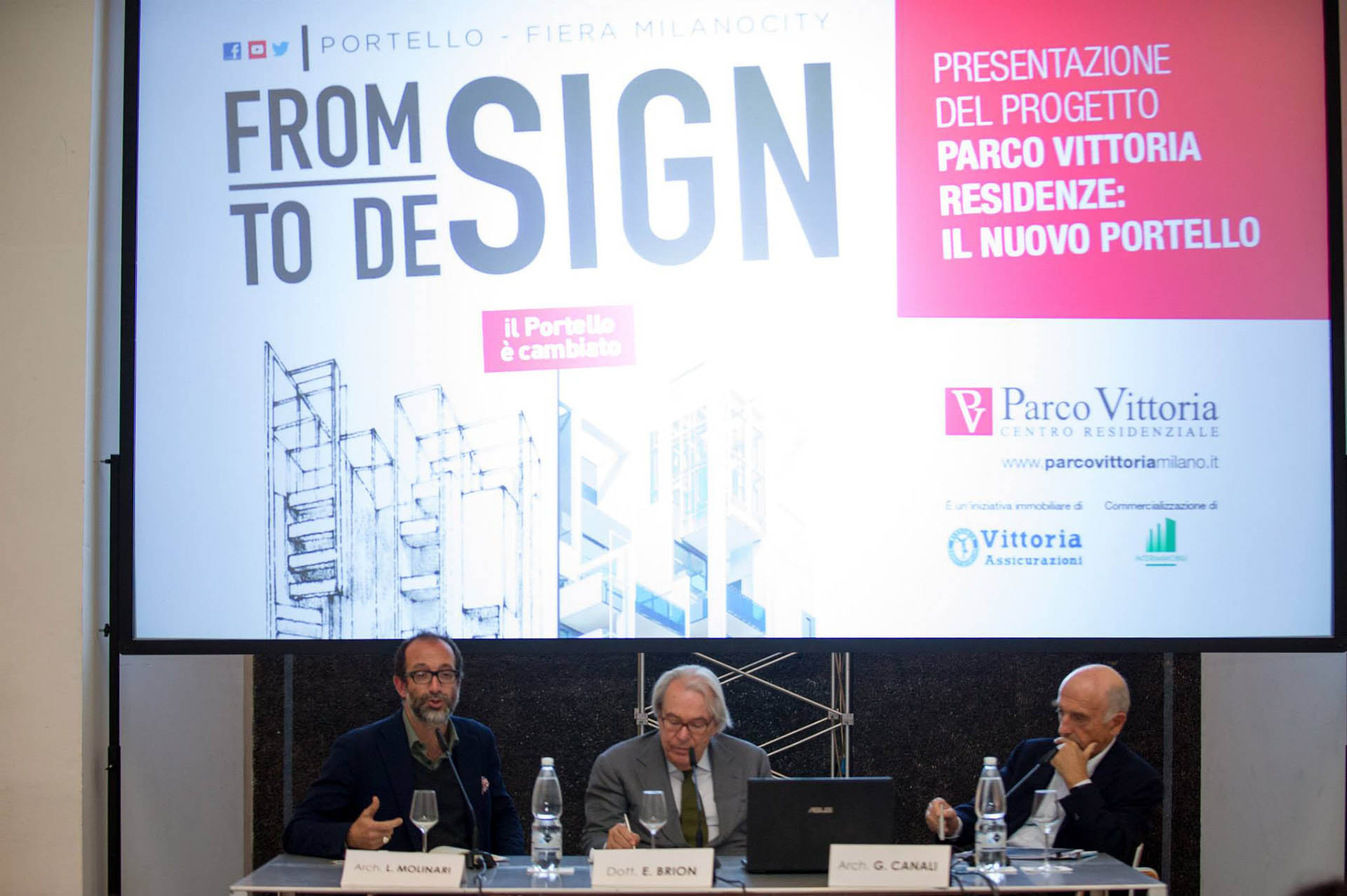 "Parco Vittoria, Evento ""From Sign"""