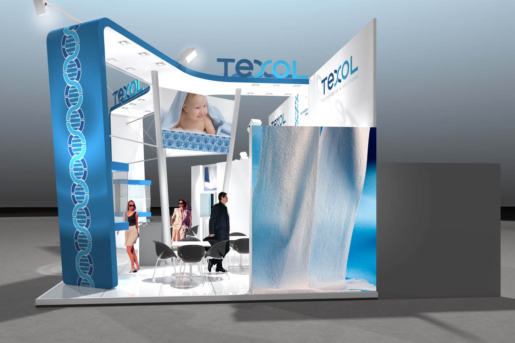 "Texol, Stand ""Fiera Idea Boston"""