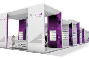 "Aptar, Stand ""Cosmoprof 2010/11"""