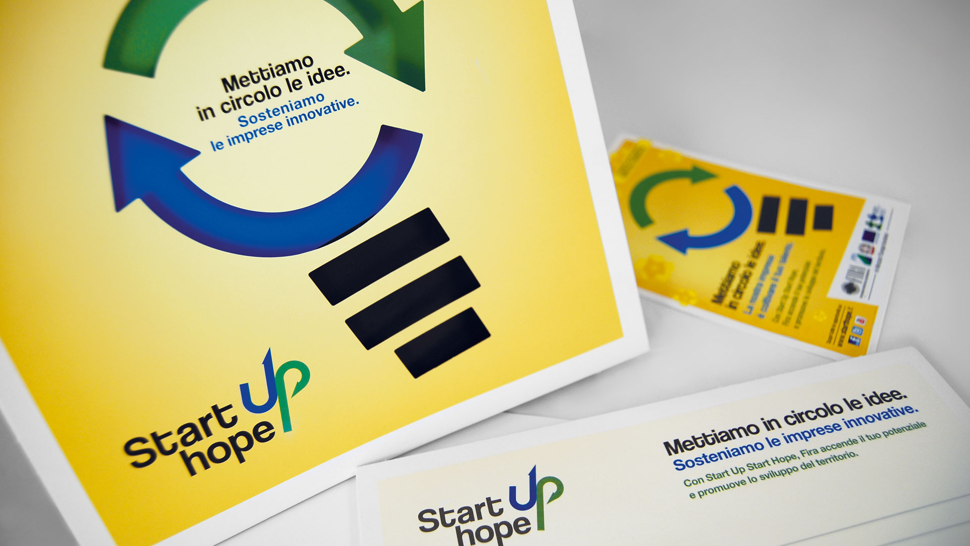 "Fira, Progetto ""Start Up Start Hope"""