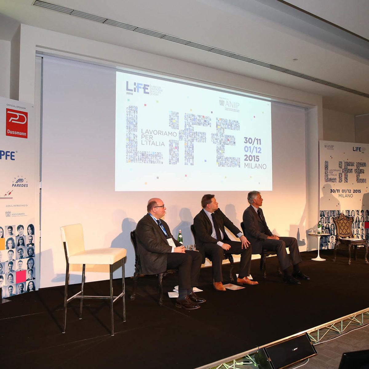 """ANIP (Associazione Nazionale Imprese di Pulizia), Evento """"LIFE 2015"""""""