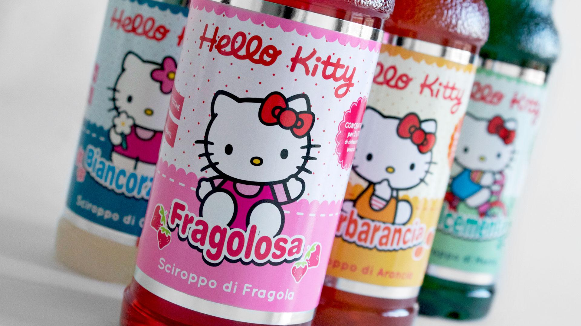 "Pallini, Etichette ""Hello Kitty"""