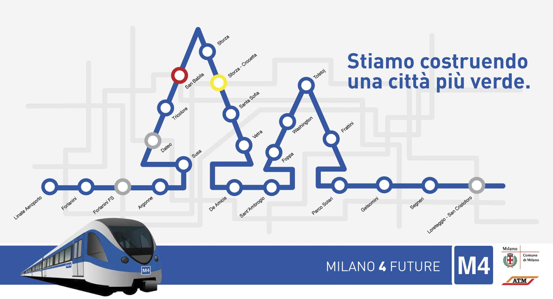 """Metropolitana Milanese, ADV """"4 Future"""""""