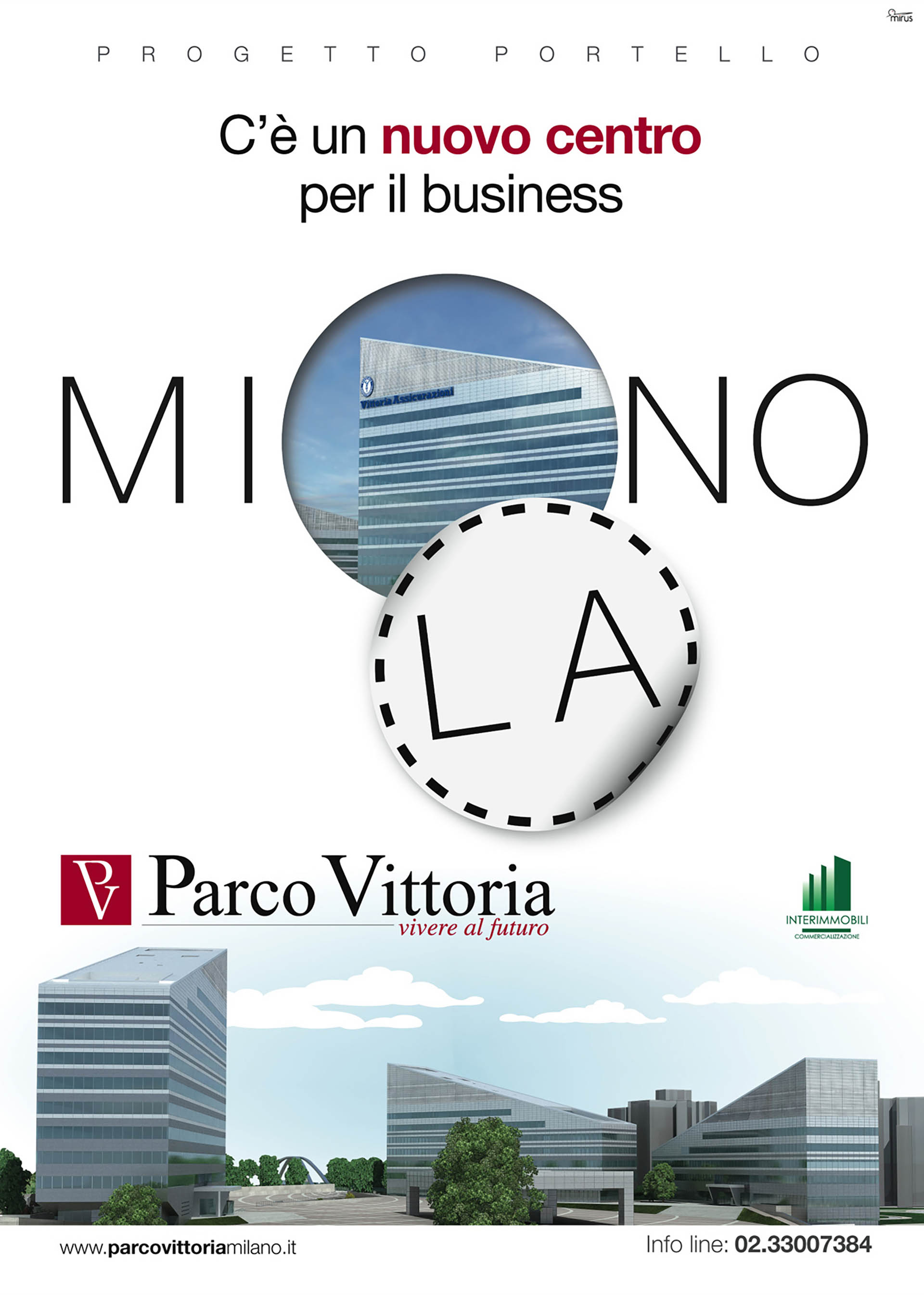 """Parco Vittoria, ADV """"Taglio"""""""