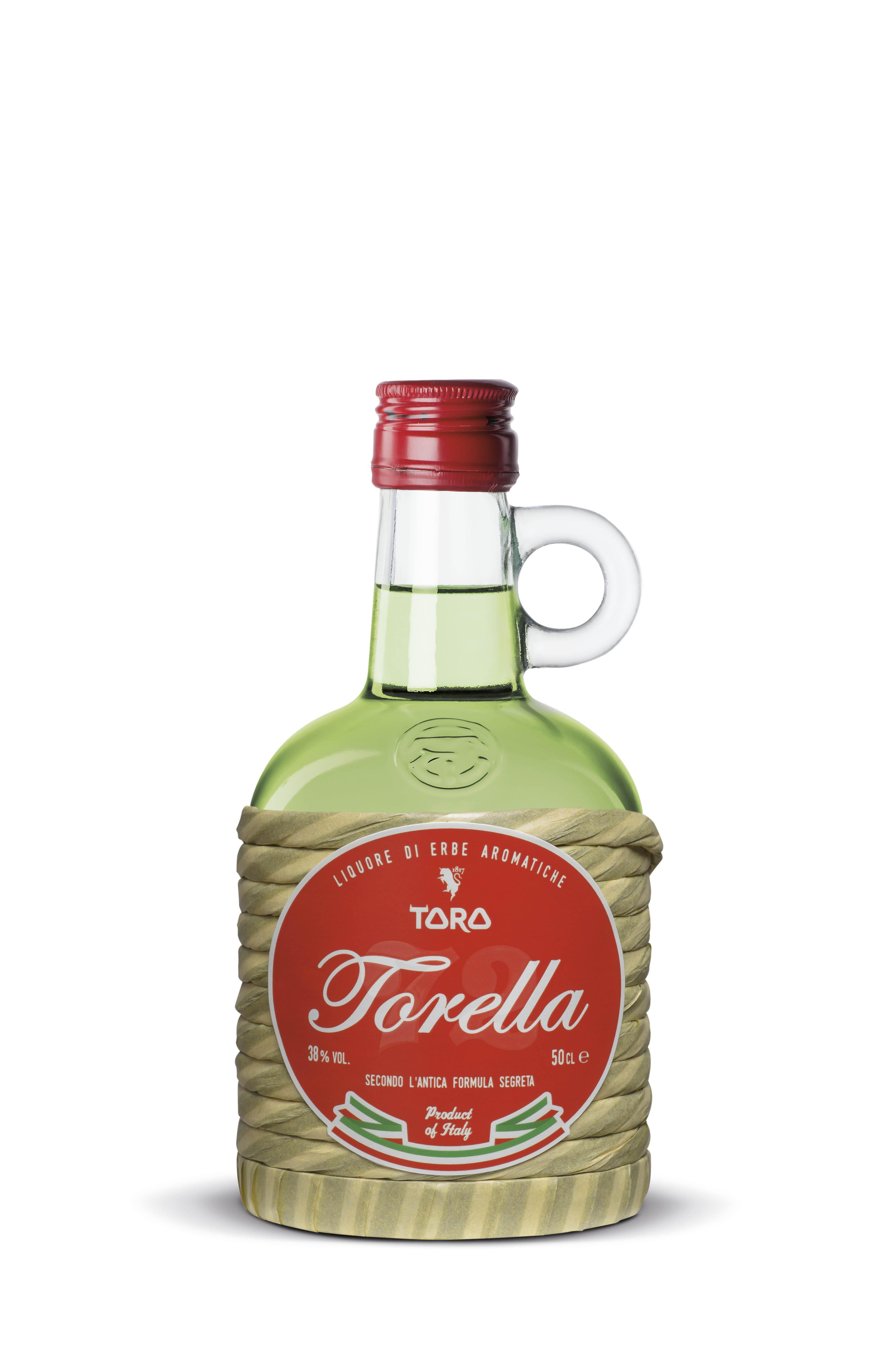 """Liquori Toro, Etichette """"Linea 72"""""""
