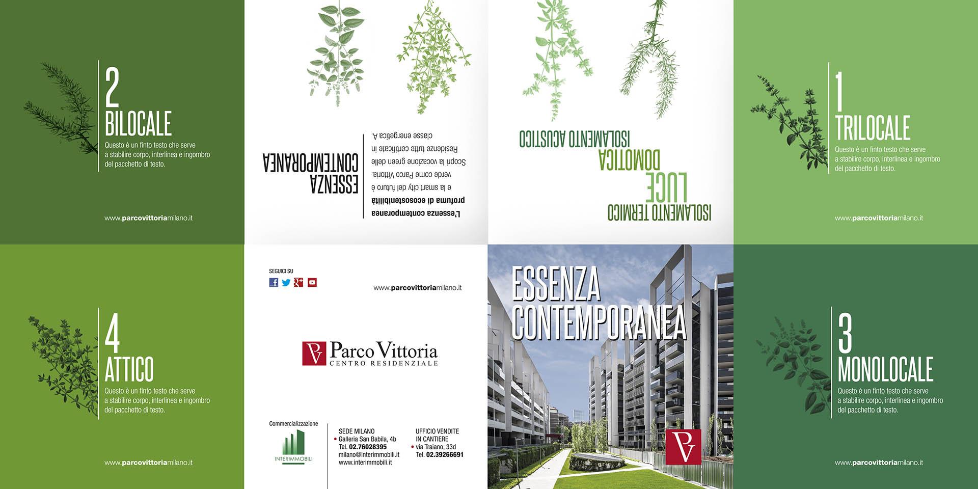 "Parco Vittoria, Evento ""Essenza"""