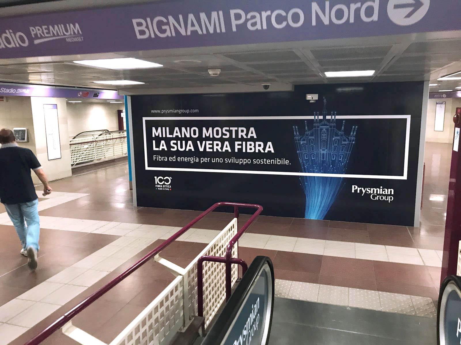 Prysmian, Station domination