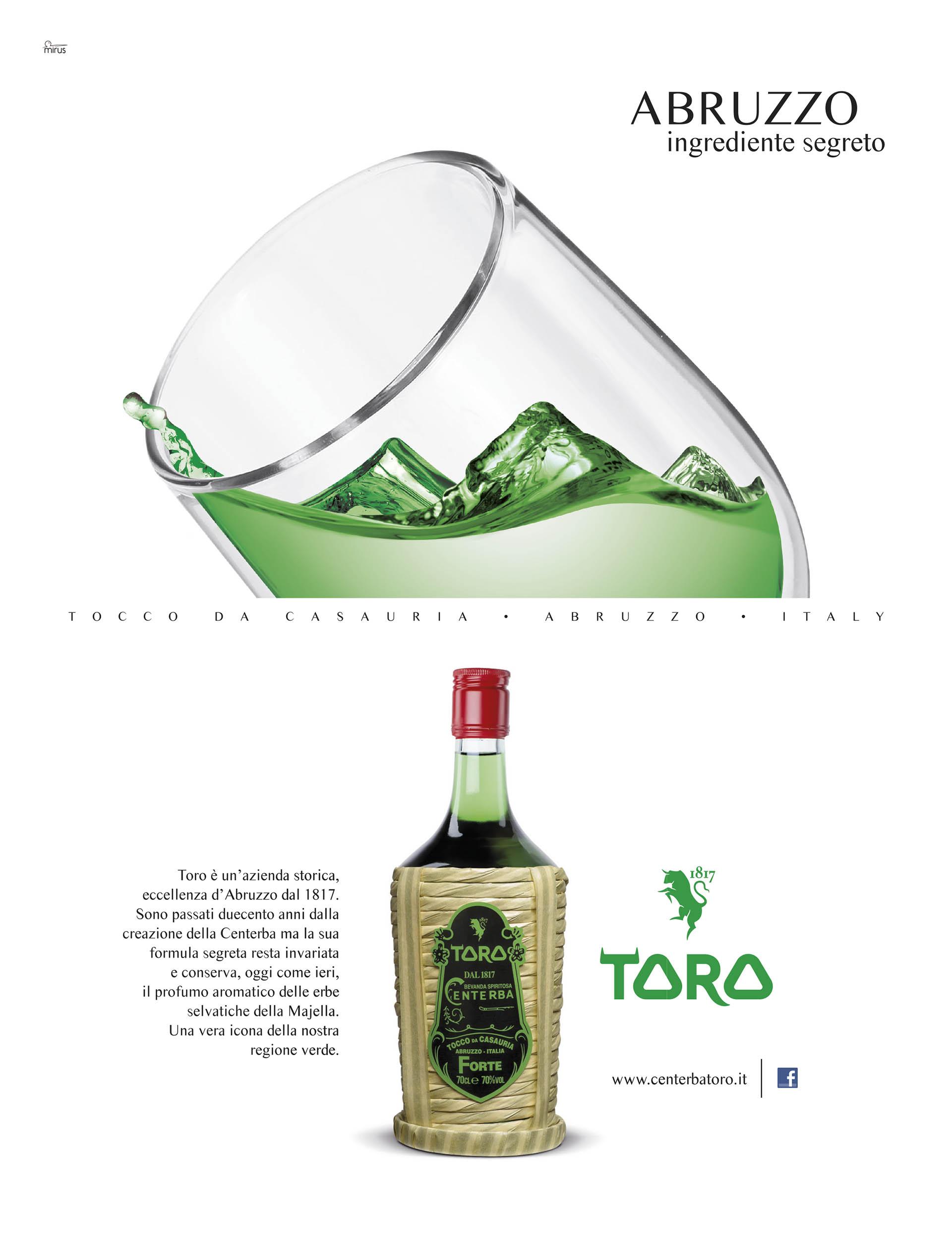"""Liquori Toro, ADV """"Segreto"""""""