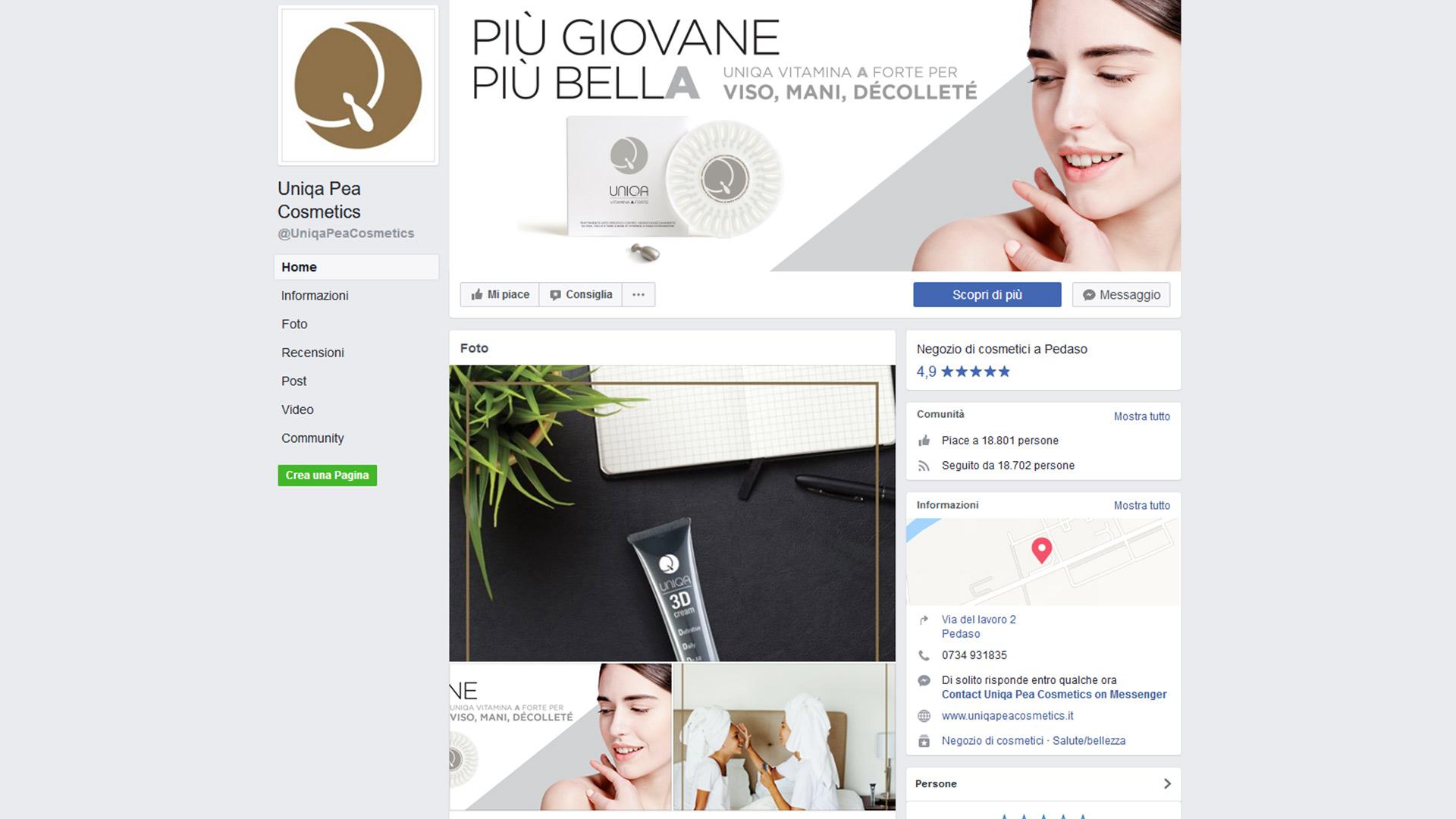 PEA Cosmetics, Social