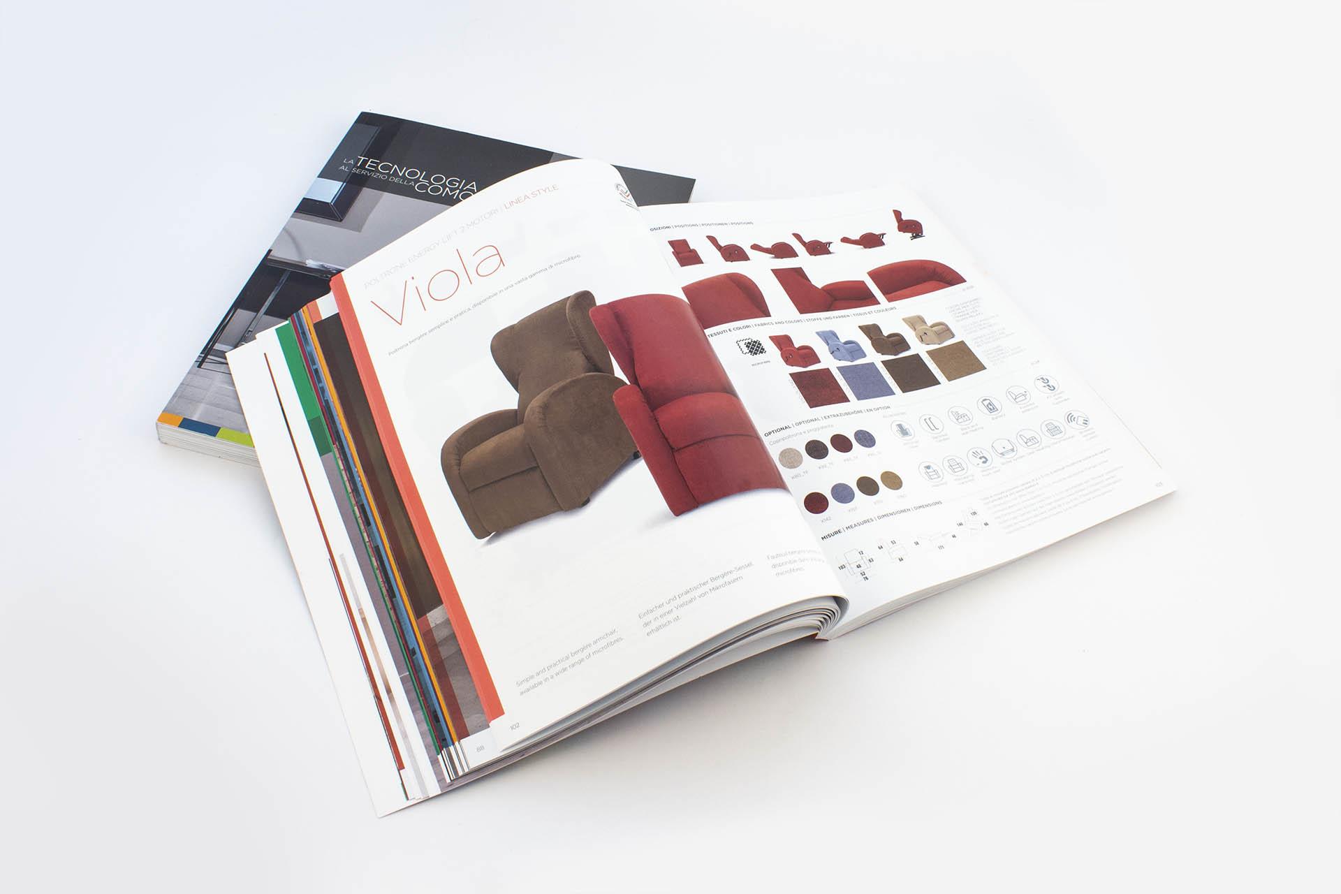 SB Relax, Catalogo prodotti