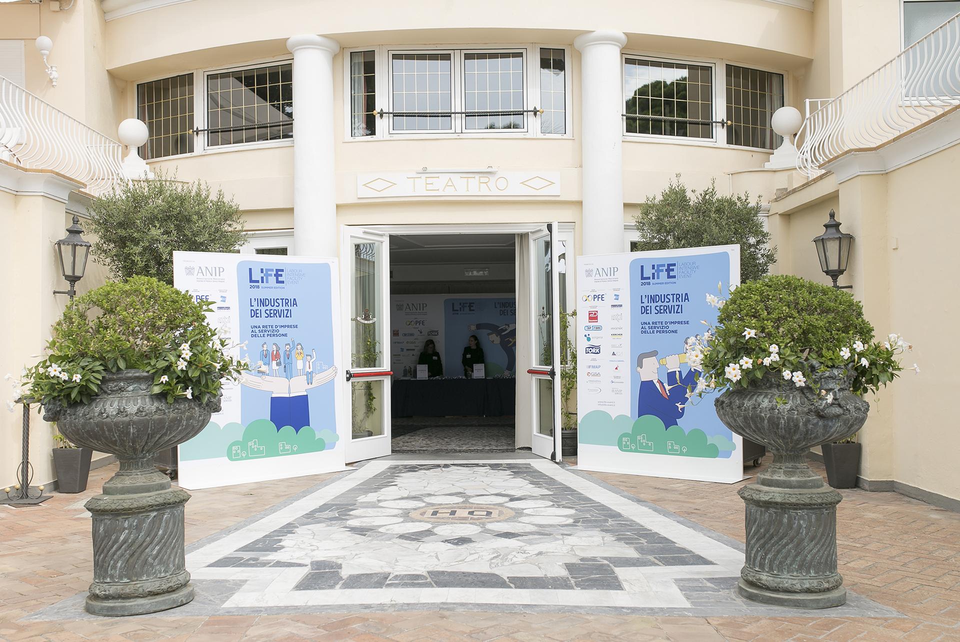 "ANIP (Associazione Nazionale Imprese di Pulizia), Evento ""L'industria dei servizi"""