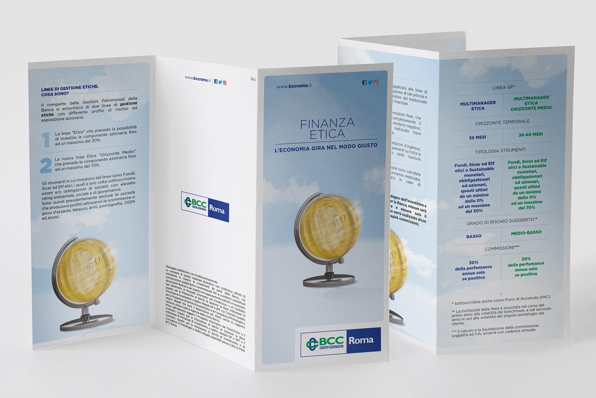 BCC, Leaflet informativi